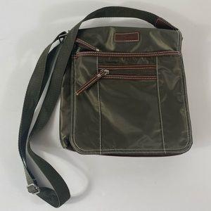 Roots Crossbody Satchel Bag